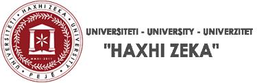 "Universiteti ""Haxhi Zeka"""