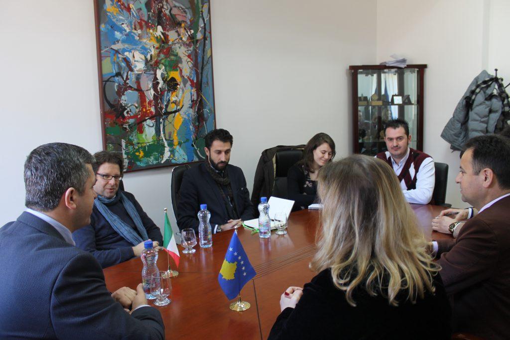Menaxhmenti i UHZ-së priti sot përfaqësues të asociacionit Tretino con l Balcani