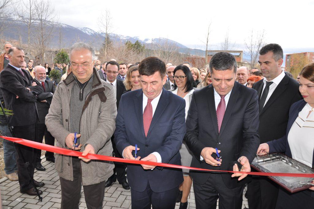 """U përurua objekti i ri i Fakultetit të Agrobiznesit në Universitetin """"Haxhi Zeka"""" në Pejë"""