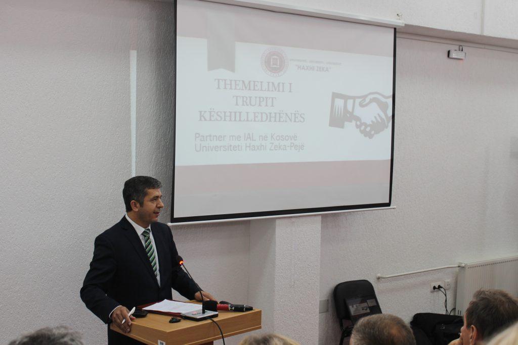 """U themelua Trupi Këshillëdhënës i Fakultetit të Agrobiznesit në Universitetin """"Haxhi Zeka"""" në Pejë"""