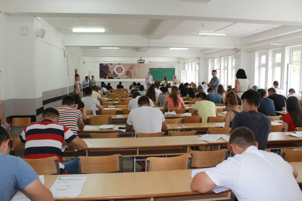 """Mbahet provimi pranues në Universitetin """"Haxhi Zeka"""" në Pejë"""