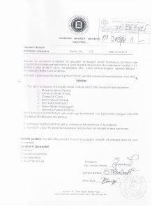 Vendimi i Komisionit per shqyrtimin e ankesave 001