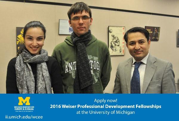 Weiser Professional Development Awards – Thirrje për aplikim