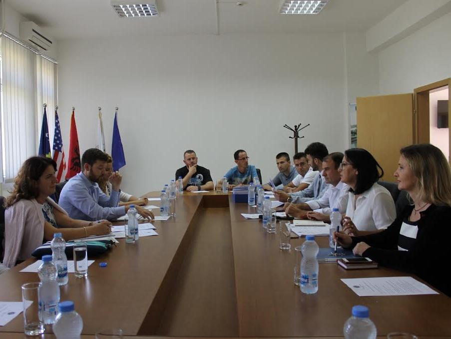 """Monitorimi i projektit """"Rritja e Autonomisë Financiare dhe e Llogaridhënies te Institucioneve Publike të Arsimit të Lartë në Kosovë"""" – FAITH"""