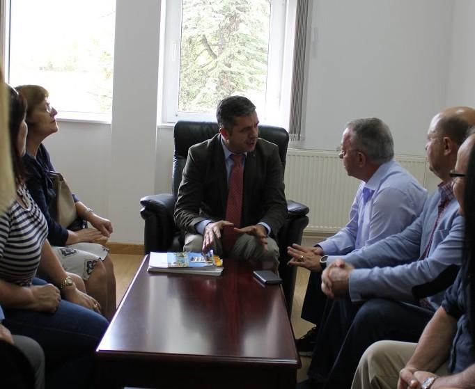 Menaxhmenti priti sot Rektorin e Universitetit të Tiranës dhe Rektorin e Universitetit të Arteve në Tiranë