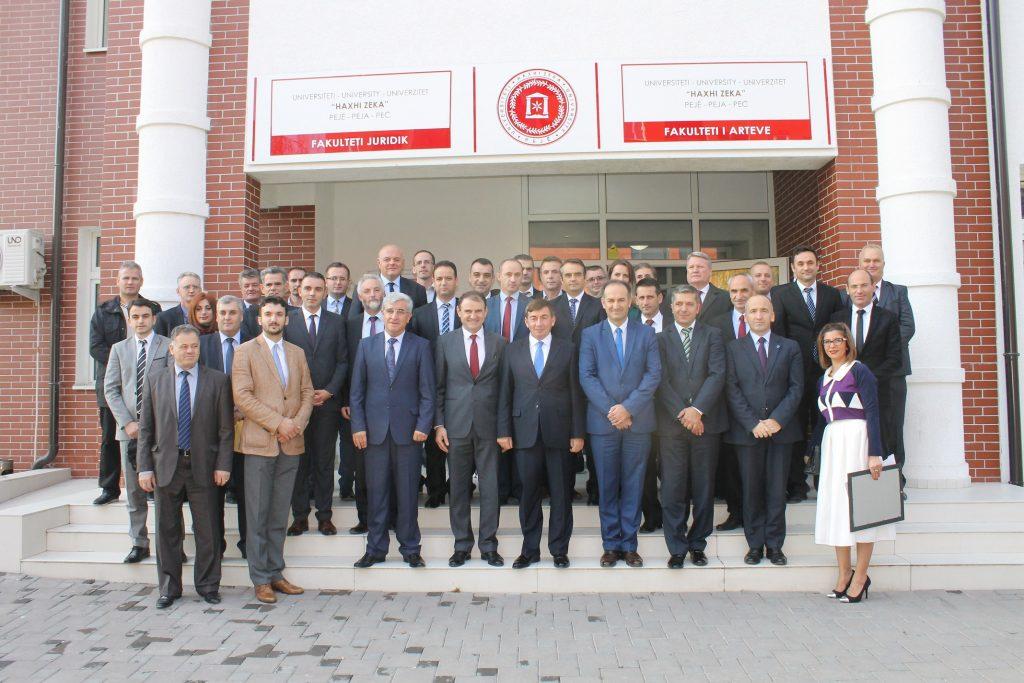 """Ceremonia e katër vjetorit të themelimit të Universitetit """"Haxhi Zeka"""" në Pejë"""