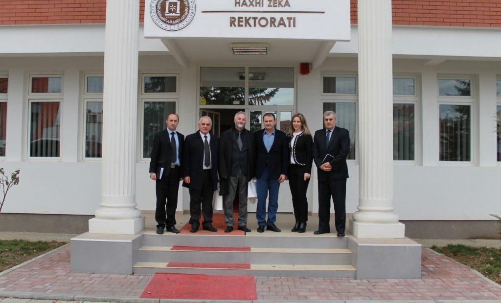 Rektori Millaku priti Rektorin e Universitetin të Gjakovës