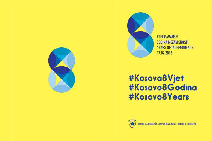 Gëzuar 8 vjetori i Pavarësisë së Republikës së Kosovës!