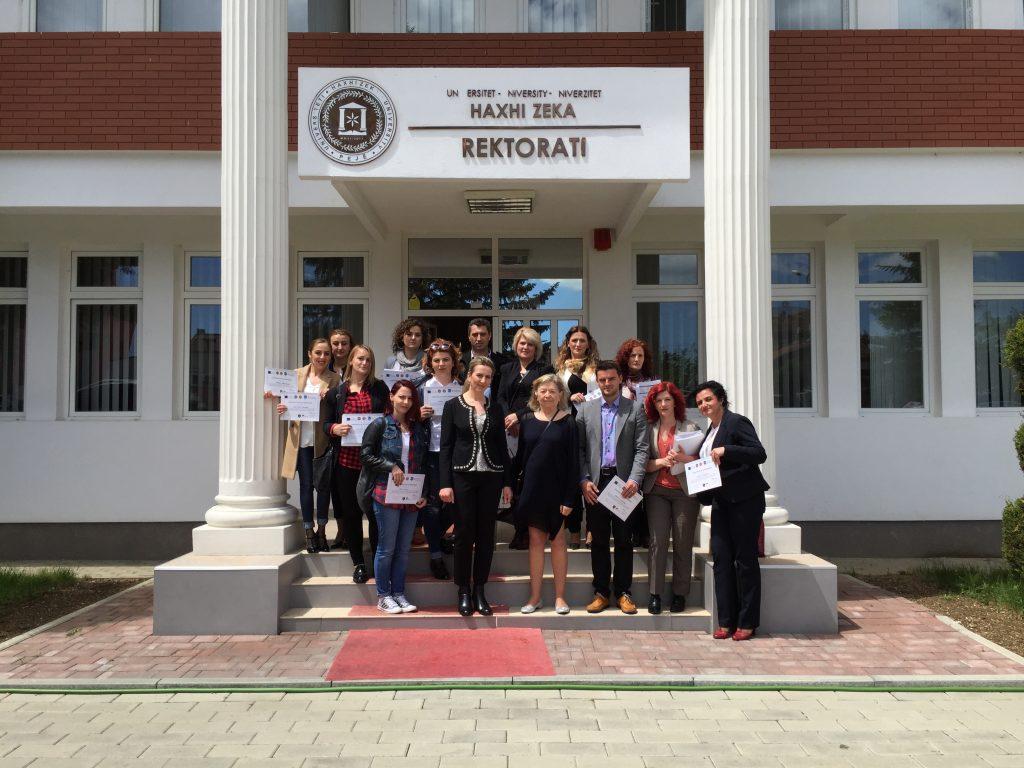 Trajnimi dhe certifikimi i stafit të UHZ-së