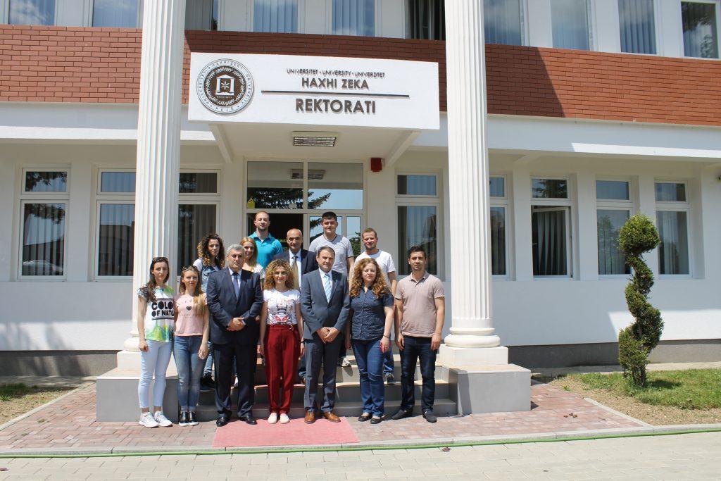 Studentët e Universitetit të Tetovës vizituan UHZ-në