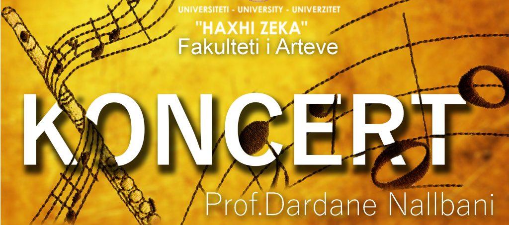 Koncert – Prof. Dardane Nallbani