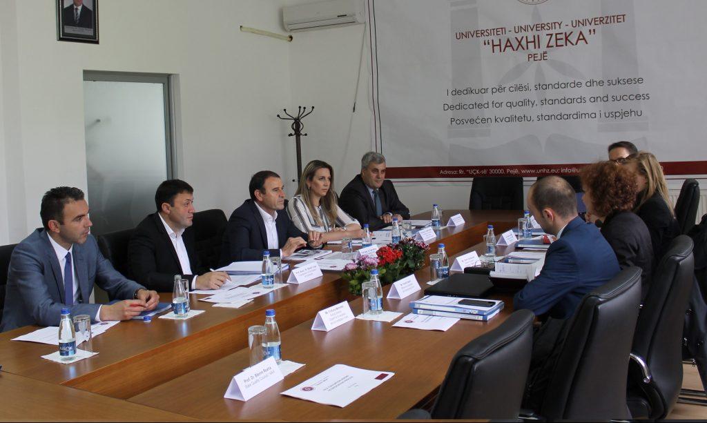 UHZ u vizitua sot nga ekspertët e Agjensitonit të Akreditimit të Kosovës