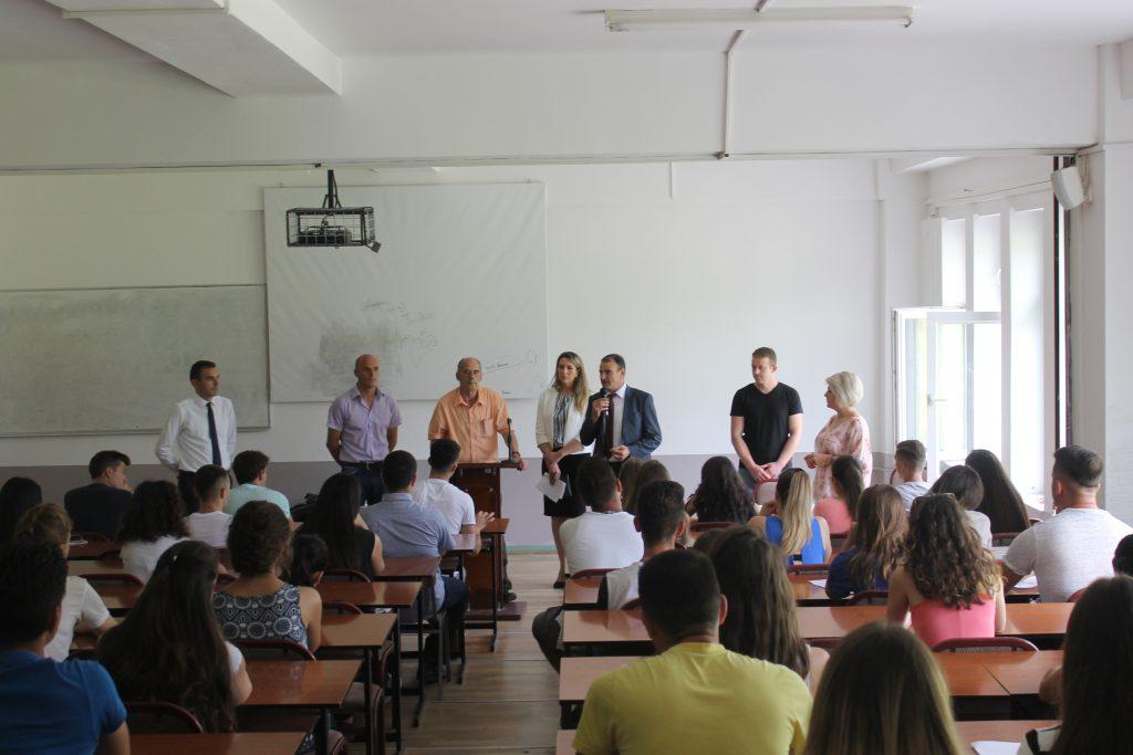 U mbajt provimi pranues në të gjitha njësitë akademike në UHZ