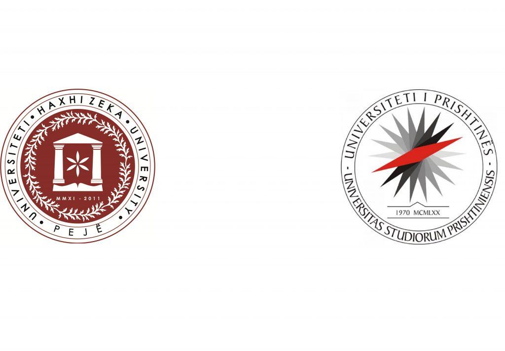 """Universiteti """"Haxhi Zeka"""" dhe Universiteti """"Hasan Prishtina"""" thellojnë bashkëpunimin ndëruniversitar"""