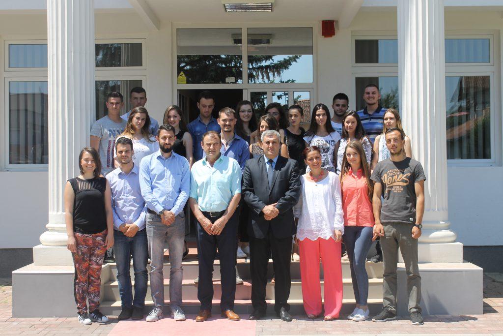 Studentë nga Universiteti i Trentos vizituan UHZ-në