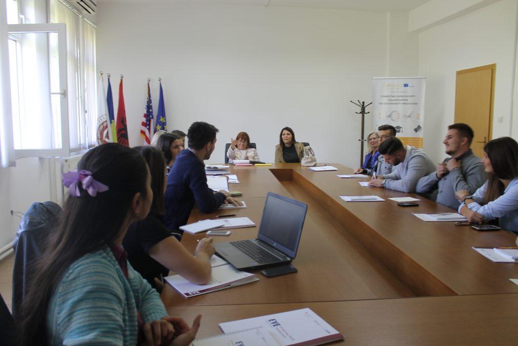 Përfaqësues të projektit 'Rritja e Punësimit për të Rinjtë (EYE)' vizituan UHZ-në