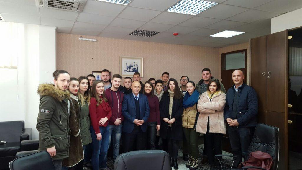 Studentët vizituan Prokurorin Themelore në Pejë