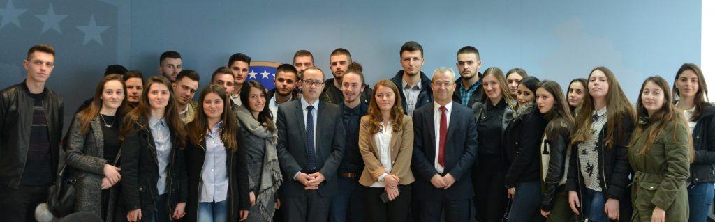 Vizitë e studentëve të Drejtimit Kontabilitet dhe Financa në Ministrin e Financave.