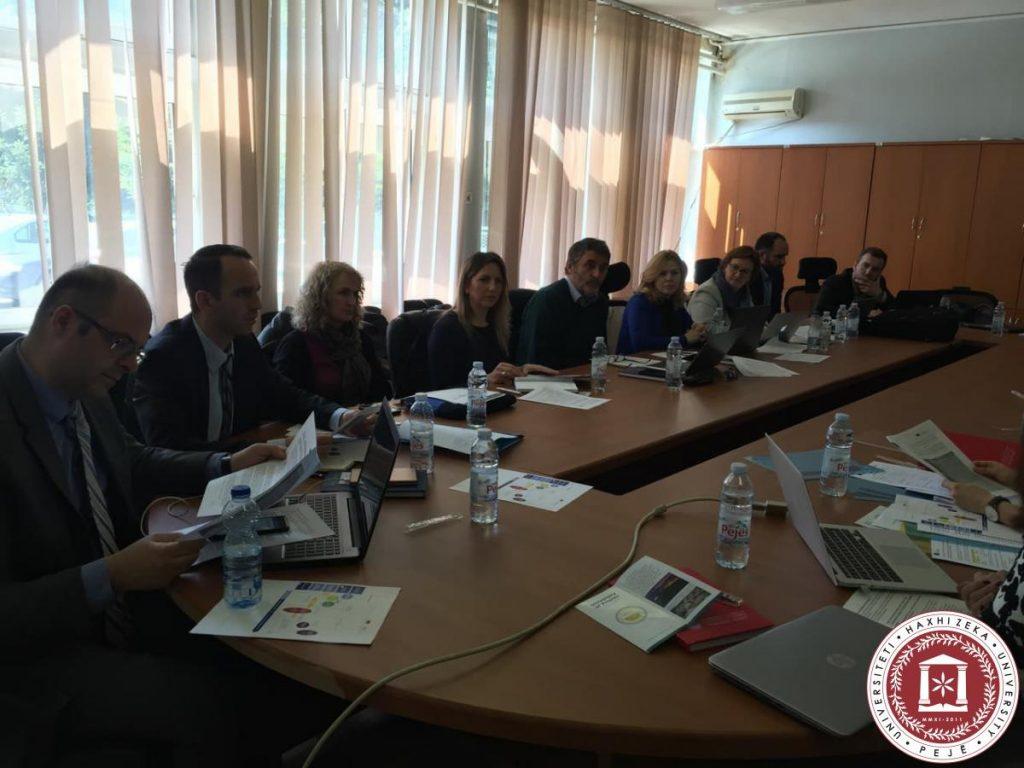 Takimi i parë i partnerëve për fillimin e projektit në HERAS