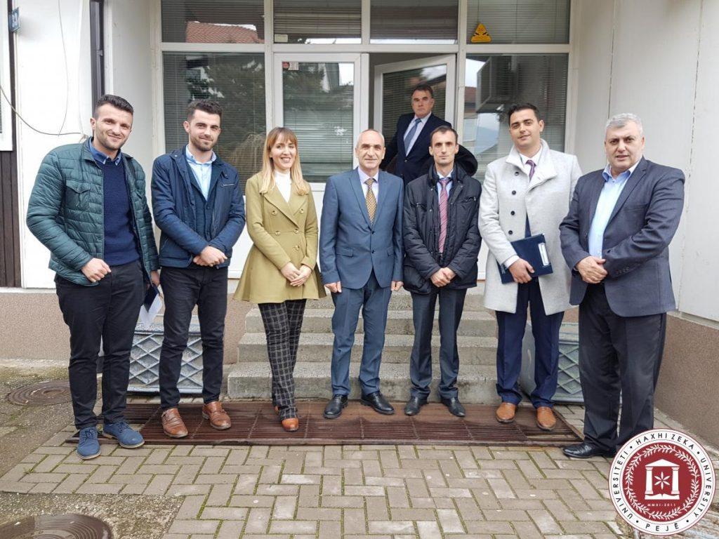 Përfaqësuesit nga Banka Qendrore vizitojnë UHZ-në