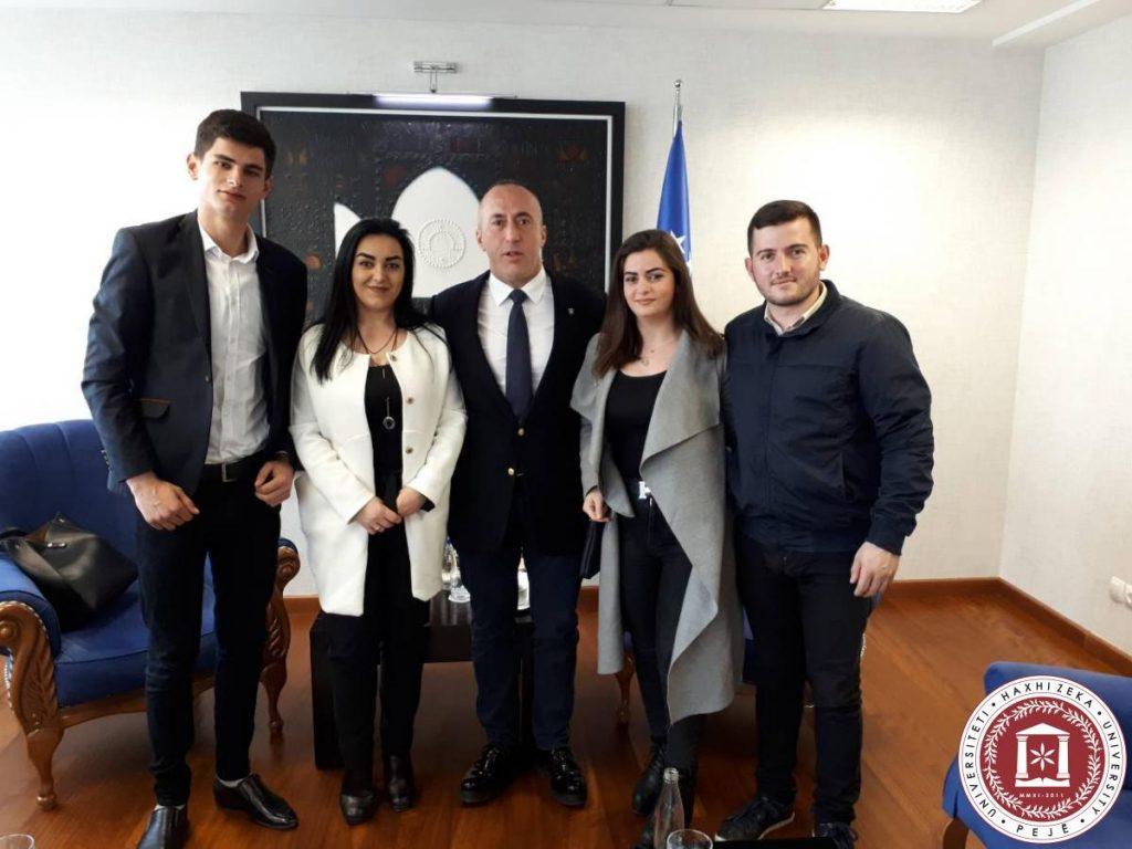 Takimi me Kryeministrin z.Ramush Haradinaj