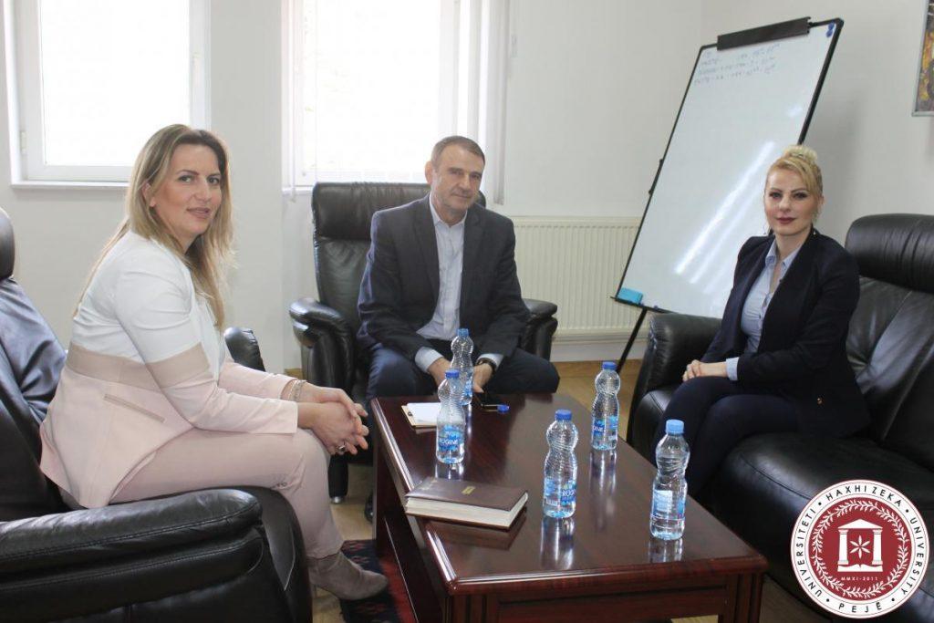 Deputetja e Kuvendit të Republikës së Kosovës zonja Duda Balje vizitojë UHZ-në