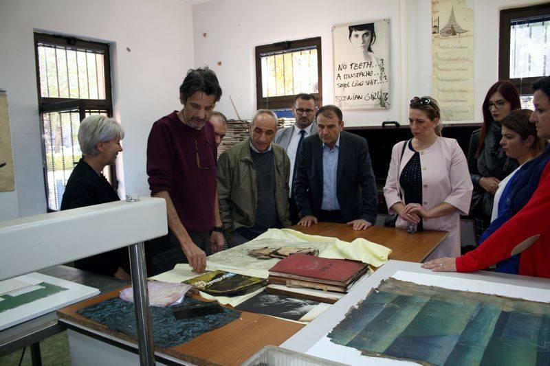 """Vizita e  Delegacionit të Universitetit """"Haxhi Zeka"""" në Bosnjë dhe Hercegovinë"""