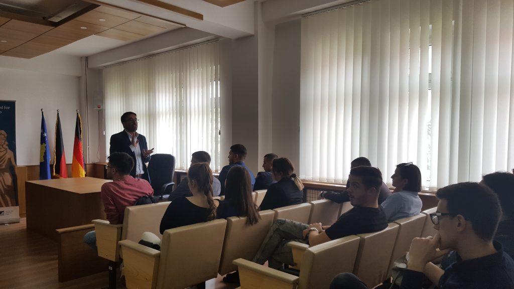 Lecture by Professor Islam Pepaj