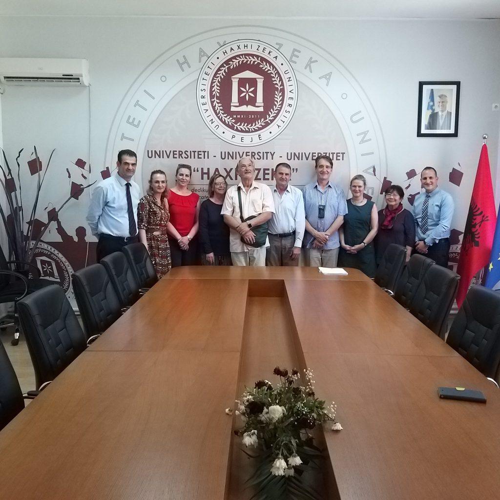 Vizitë nga delegacionet e jashtme