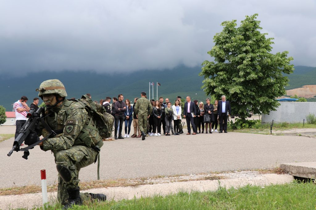 Visit to the Rapid Reaction Brigade (RRB)