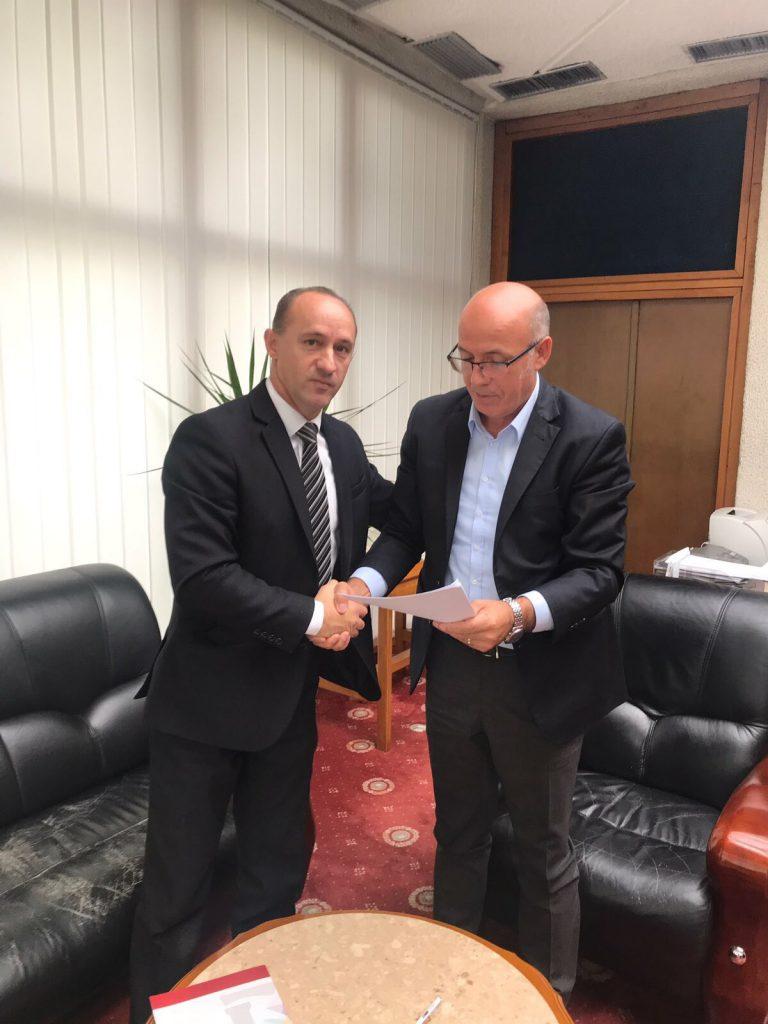 Marrëveshje bashkëpunimi ndërmjet UHZ-së dhe BKK-së