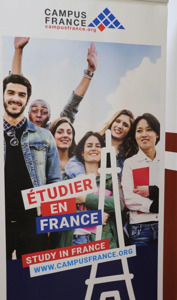 Konferencë rreth mundësisë së studimeve në Francë