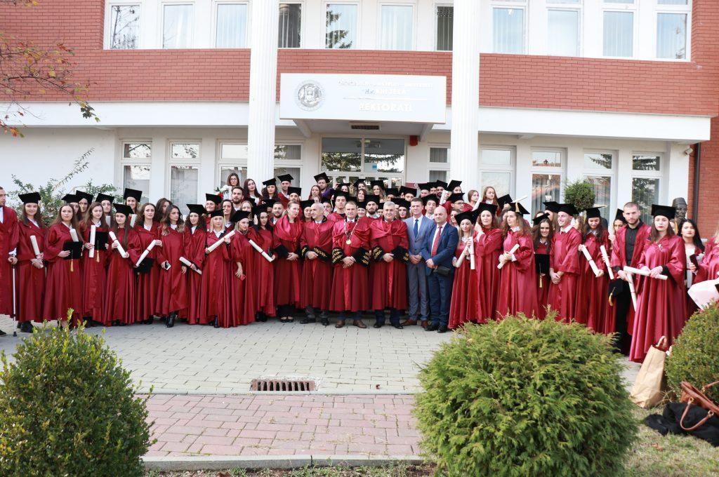 Mbahet Ceremonia Solemne e Diplomimit në UHZ