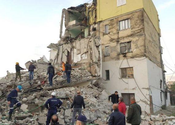 UHZ ngushëllon familjet e viktimave të tërmetit në Shqipëri