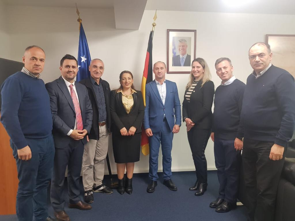 Visit to the Consulate of the Republic of Kosovo in Germany