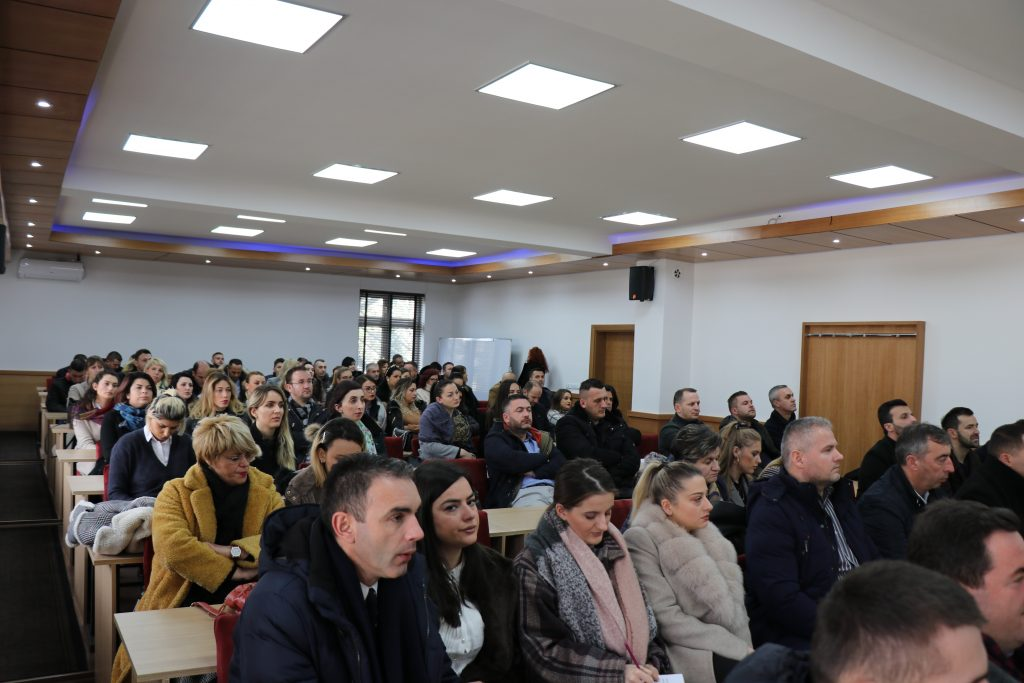 "University ""Haxhi Zeka"" held a public discussion about the Strategic Plan 2020-2024"