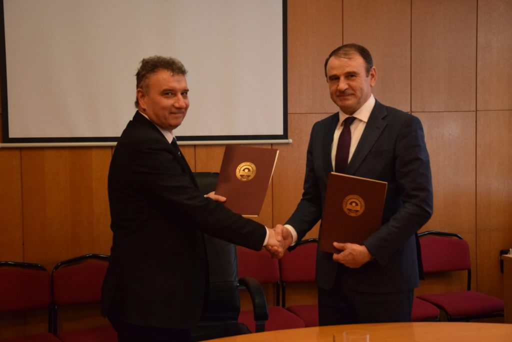 Memorandum of Cooperation with the University of National and World Economy