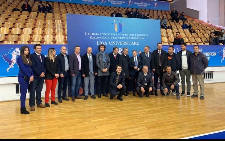 U mbajt ceremonia e hapjes së Ligave Universitare