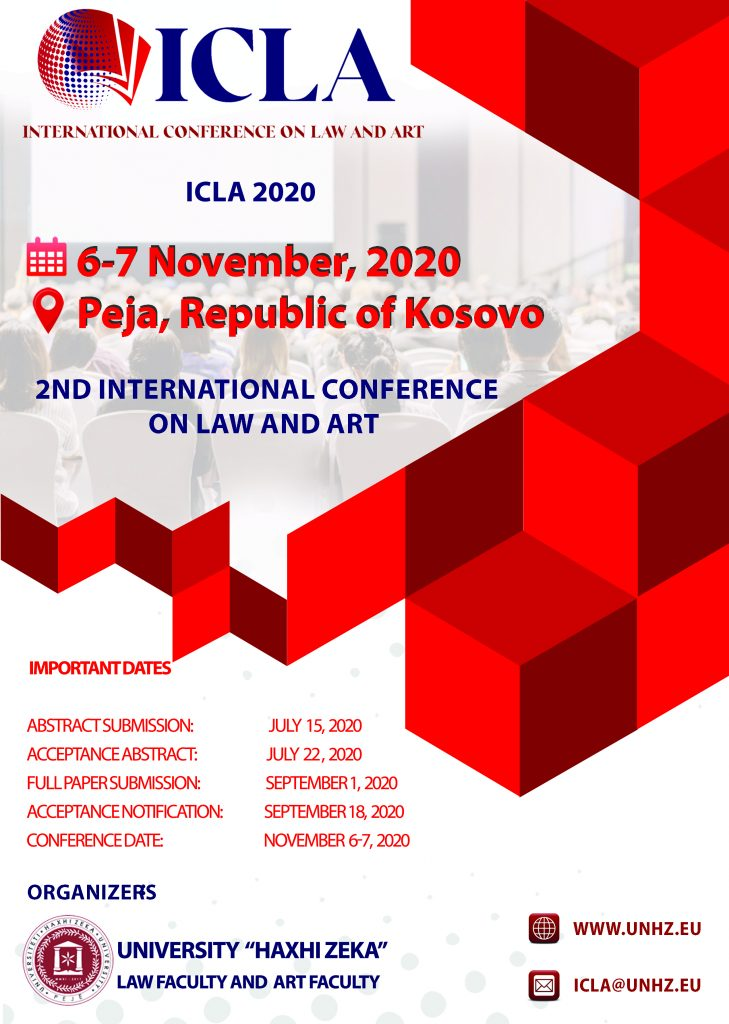 International Conference on Law and Art