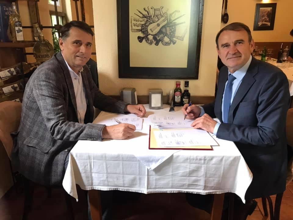 Rektori i UHZ-së nënshkroi marrëveshje partneriteti