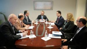 tryeza me ministrin dhe gjylbehare murati