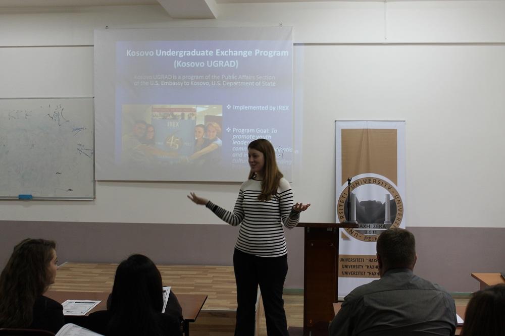 Sot u prezantua program i studimeve një vjeçare në Amerikë