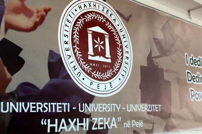 """Universiteti """"Haxhi Zeka"""" në Pejë, ngushëllon Familjen Stavileci"""