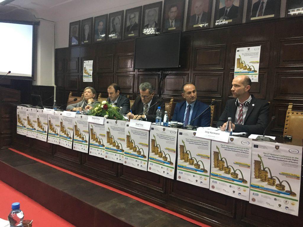 Konferenca e dytë Kombëtare për Menaxhimin e Financave të Institucioneve të Larta Publike të Arsimit të Kosovës