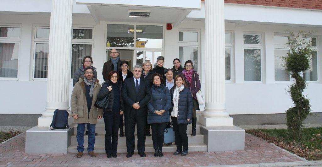 Menaxhmenti i UHZ priti sot delegacion nga Trentino