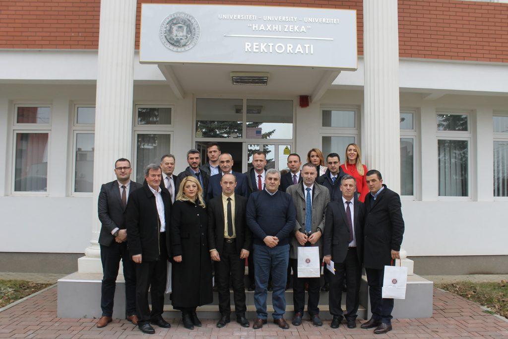 U themelua Trupa Këshillëdhënëse për Fakultetin e Biznesit