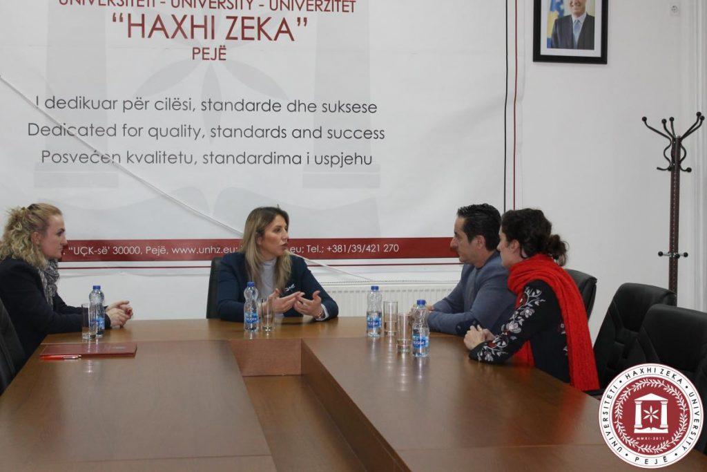 Marrëveshje bashkëpunimi me Fondin për të drejtën Humanitare