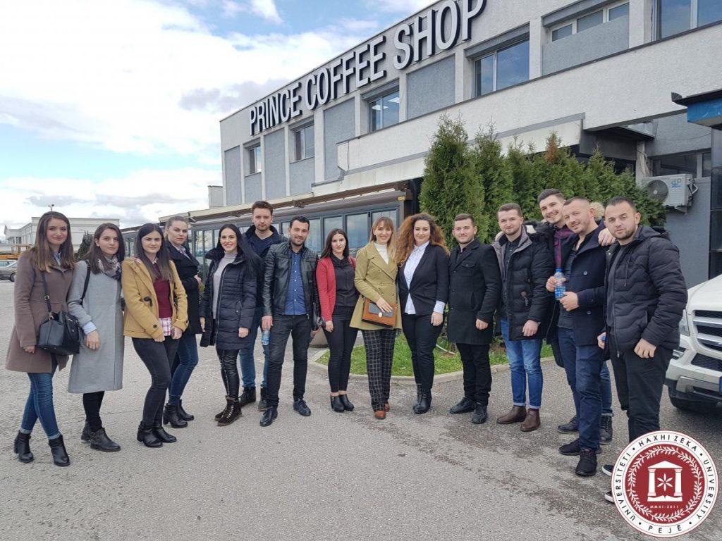 Studentët vizitojnë Elkos Group