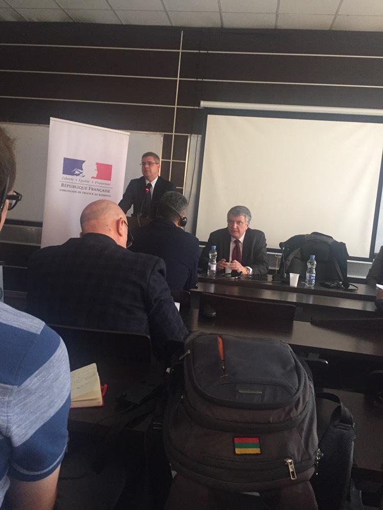 Pjesëmarrja në Ligjëratën Politika e Jashtme dhe e Sigurisë e Bashkimit Evropian (CFSP)