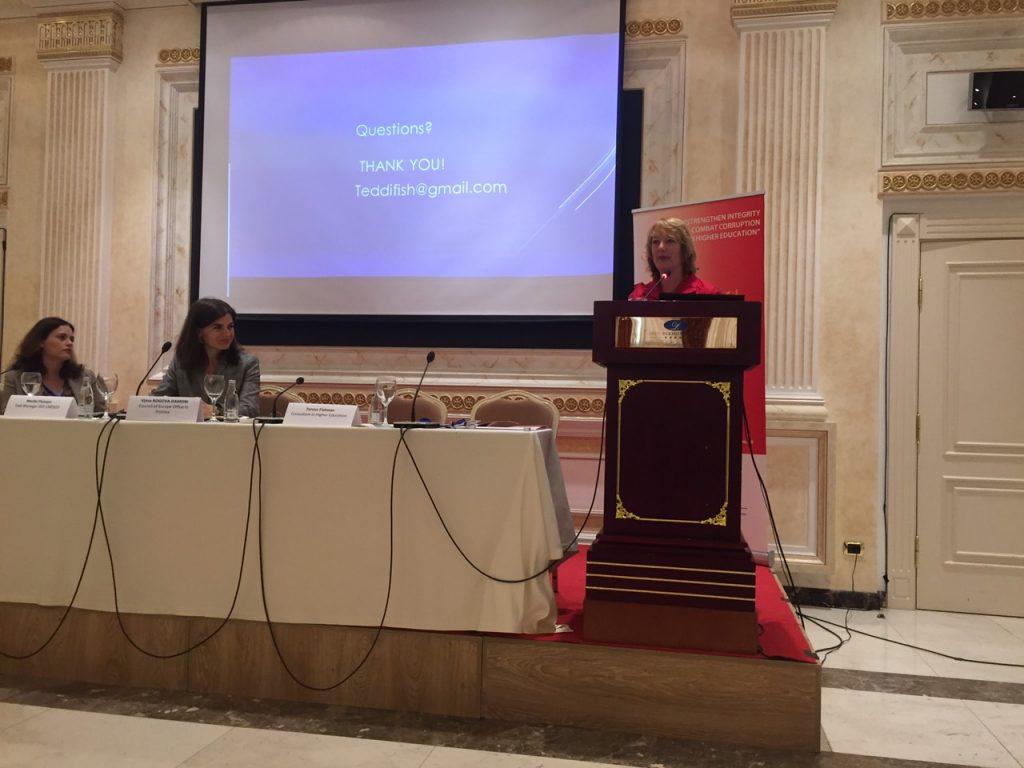 Pjesëmarrja në Konferencën mbi Etikën, Transparencën dhe Integritetin në sistemin e arsimit të lartë